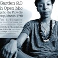 BloomBars&#039; Garden 2.0 for young people shows off the fresh local talent of the future! All are welcome to attend. Only young people (Under 21) are welcome to perform. Featured performer: Dappho the Flow-er