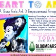 Heart to Art is a superhero school for young girls who want to use art to change the world.