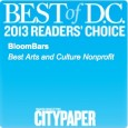 "In case you missed the news, we won… AGAIN! What did we win? The Washington City Paper's ""Best Of DC 2013"" Reader's Poll for ""Best Arts and Culture Nonprofit!"" of..."