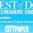 """In case you missed the news, we won… AGAIN! What did we win? The Washington City Paper's """"Best Of DC 2014"""" Reader's Poll for """"Best Arts and Culture Nonprofit!"""" of..."""